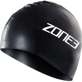 Zone3 Silicone Gorro de Natación, black